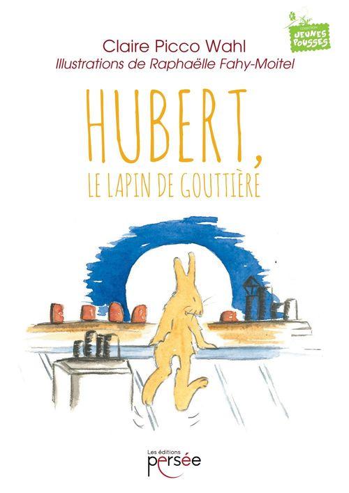 Hubert , le lapin de gouttière;