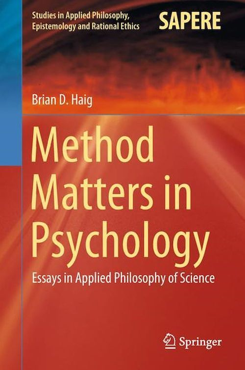 Method Matters in Psychology