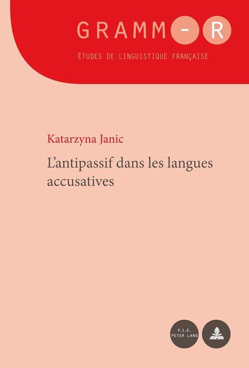 L'antipassif dans les langues accusatives