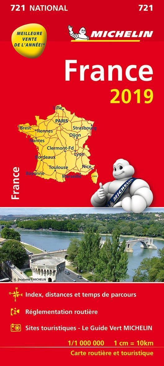 XXX - CARTE NATIONALE 721 FRANCE 2019