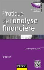 Vente Livre Numérique : Pratique de l'analyse financière - 2e éd.  - Luc Bernet-Rollande
