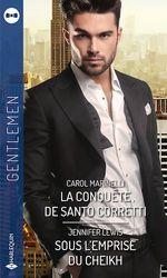 Vente EBooks : La conquête de Santo Corretti ; sous l'emprise du cheikh  - Carol Marinelli - Jennifer Lewis
