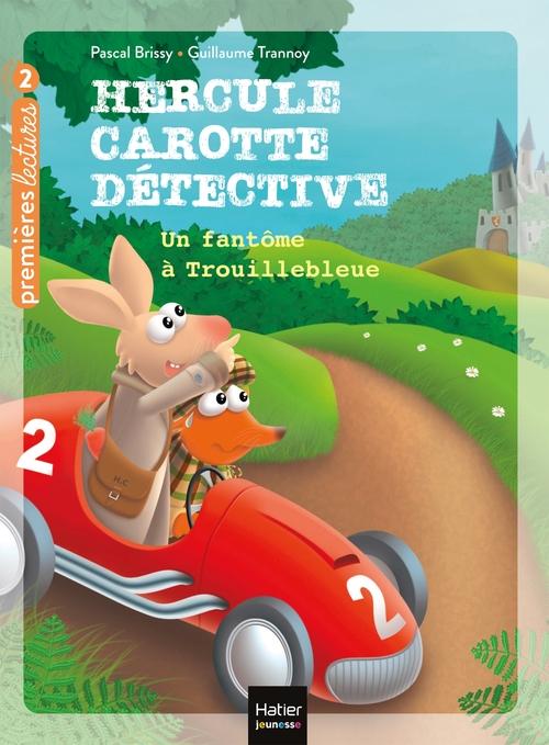 Vente EBooks : Hercule Carotte - Un fantôme à Trouillebleue CP/CE1 6/7 ans  - Pascal Brissy