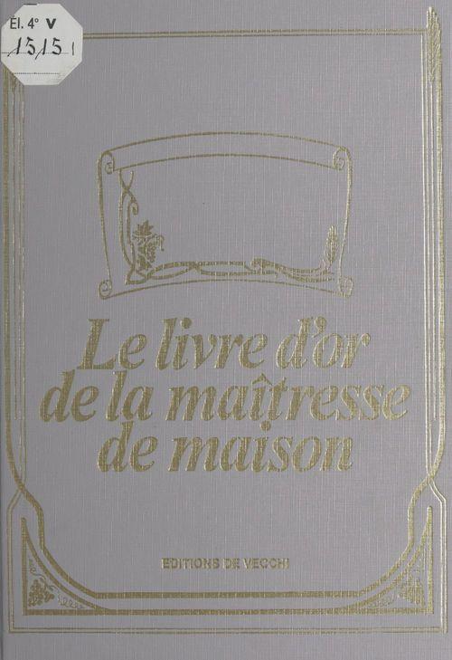Le livre d'or de la maîtresse de maison