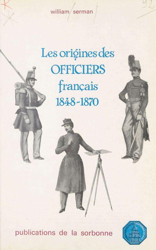 Les origines des officiers