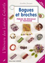 Couverture de Bagues et broches ; perles de rocaille et fantaisie t.2