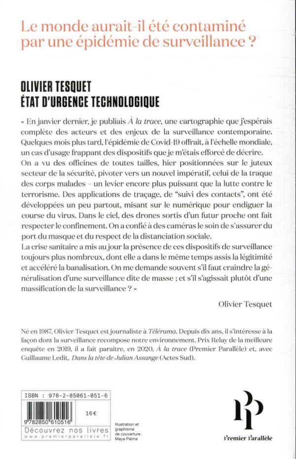 état d'urgence technologique ; comment l'économie de la surveillance a tiré parti de la pandémie