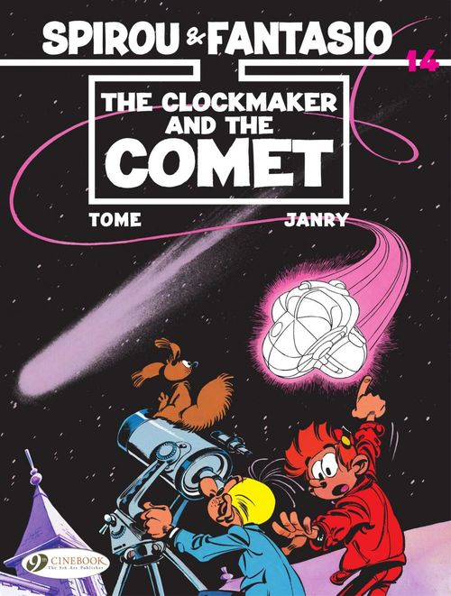 Les aventures de Spirou et Fantasio T.14 ; the clockmaker and the comet