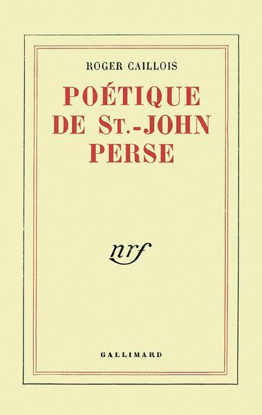 Poetique de st-john perse