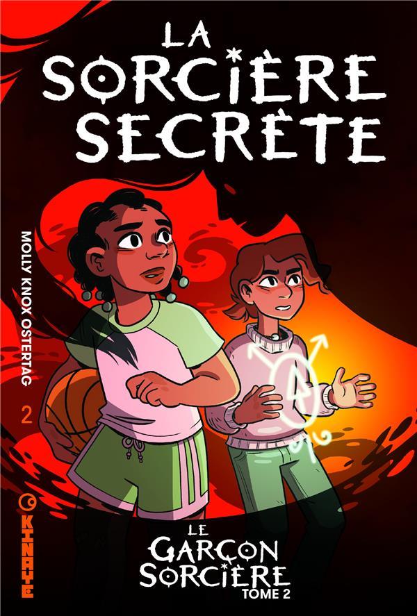le garçon sorcière t.2 ; la sorcière secrète