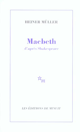 Macbeth d'apres shakespeare