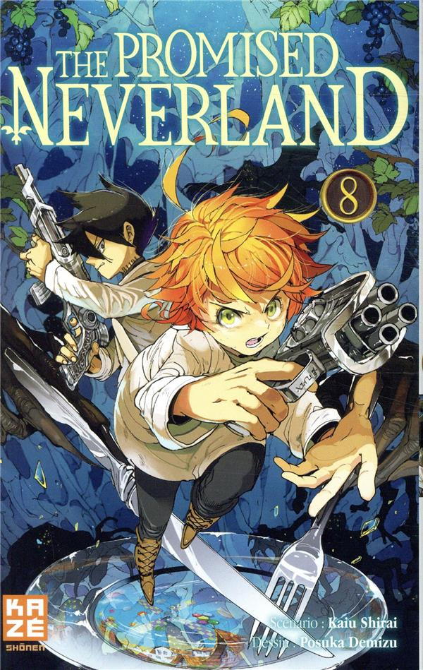 The promised neverland t.8