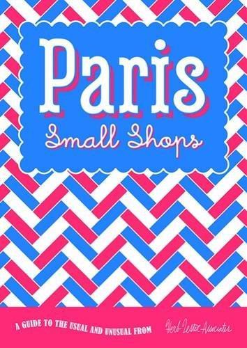 Paris small shops (folded map)