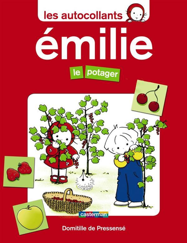 Les Autocollants D'Emilie T.1 ; Le Potager