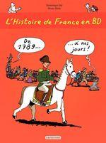 Vente Livre Numérique : L'histoire de France en BD - De 1789 à nos jours  - Dominique Joly