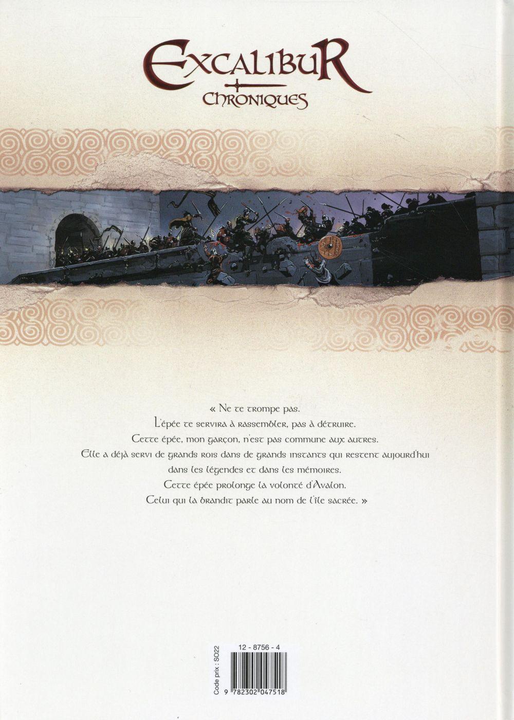 Excalibur ; chroniques t.4 ; Patricius