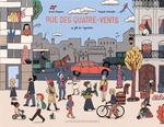 Couverture de Rue des quatre-vents ; une histoire de l'immigration