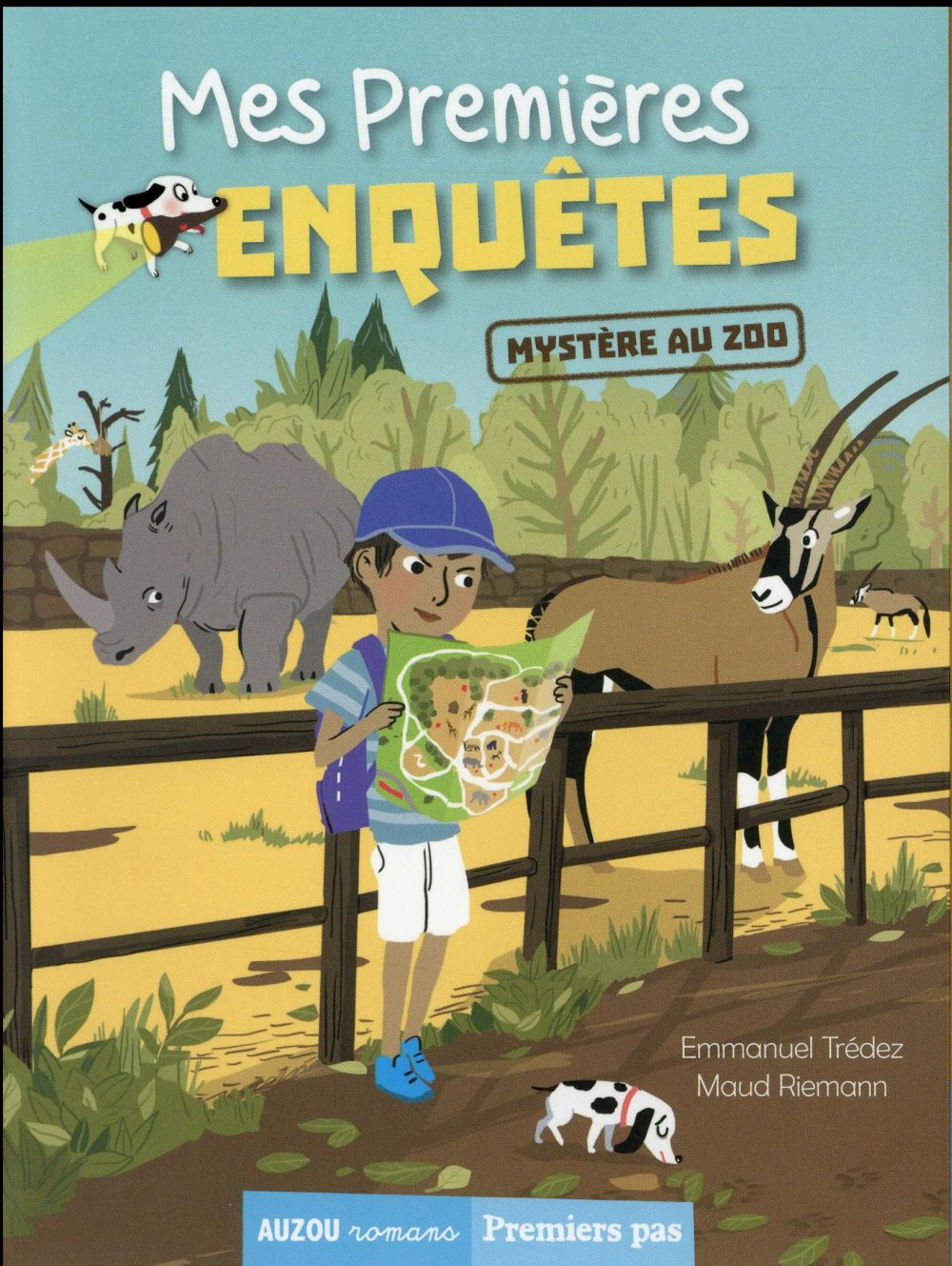 Mes premières enquêtes T.2 ; mystère au zoo