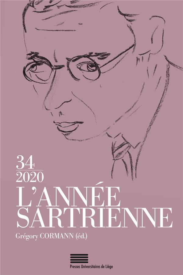 L'annee sartrienne. 34