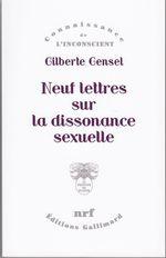 Neuf lettres sur la dissonance sexuelle  - Gilberte Gensel
