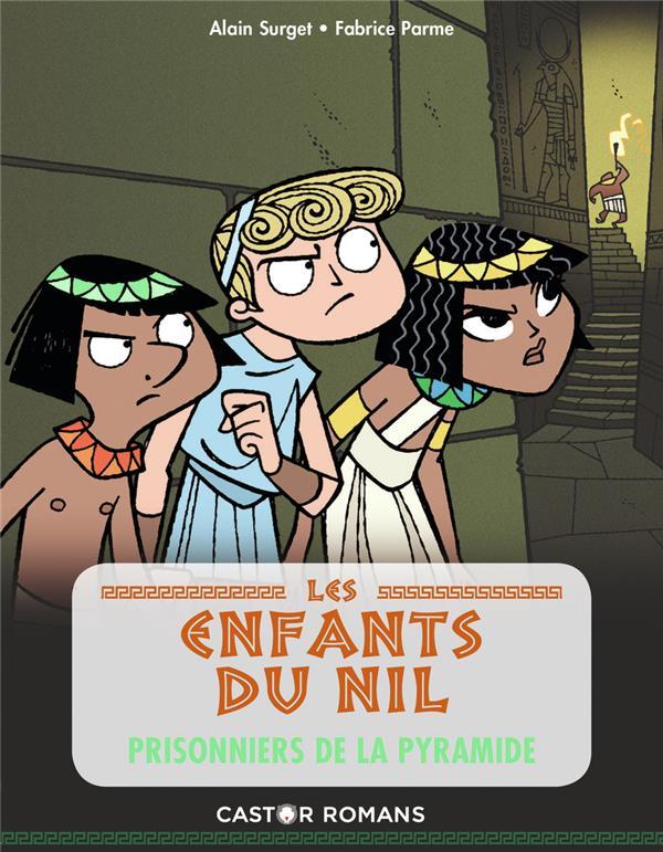 Les enfants du Nil t.3 ; prisonniers de la pyramide
