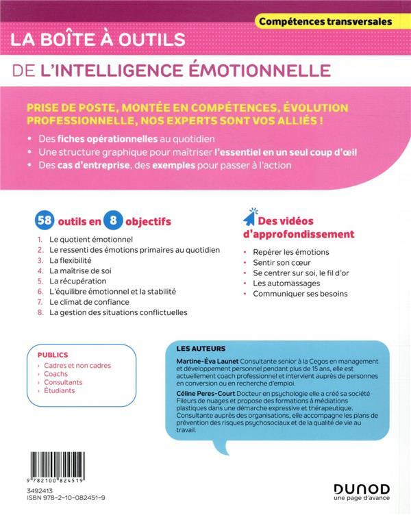 La boîte à outils ; de l'intelligence émotionnelle (2e édition)
