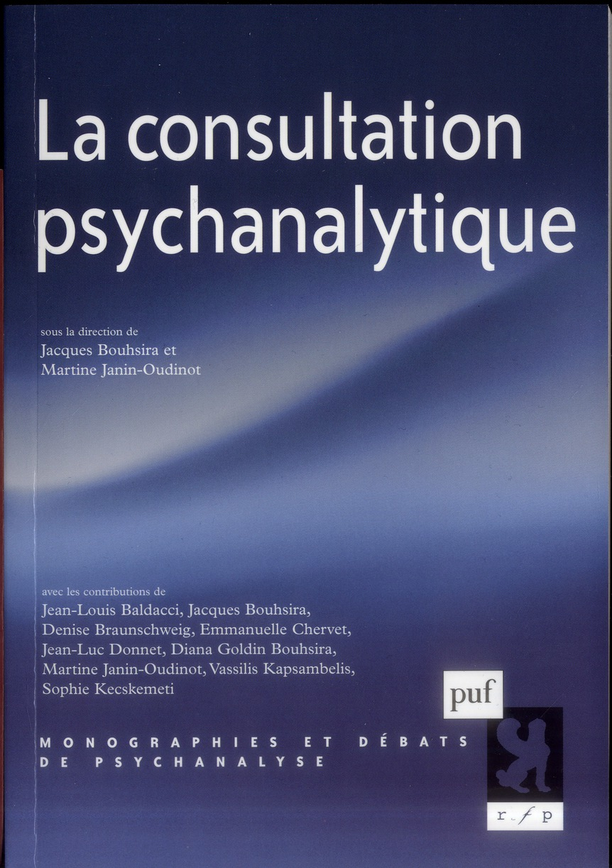La consultation psychanalytique