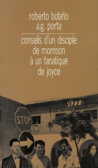 conseils d'un disciple de Morrison à un fanatique de Joyce