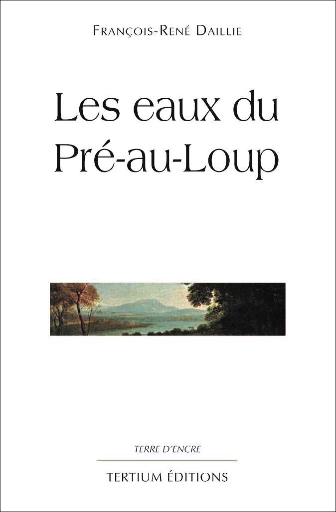 Les eaux du Pré-au-Loup