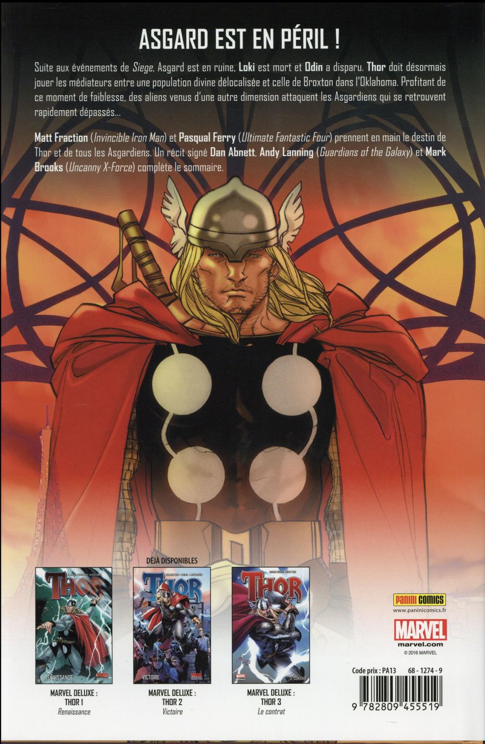 Thor t.4 ; les dévoreurs de monde