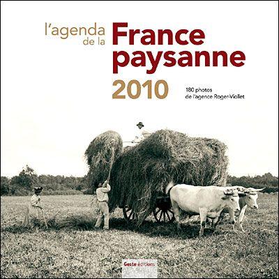 Agenda de la France paysanne 2010