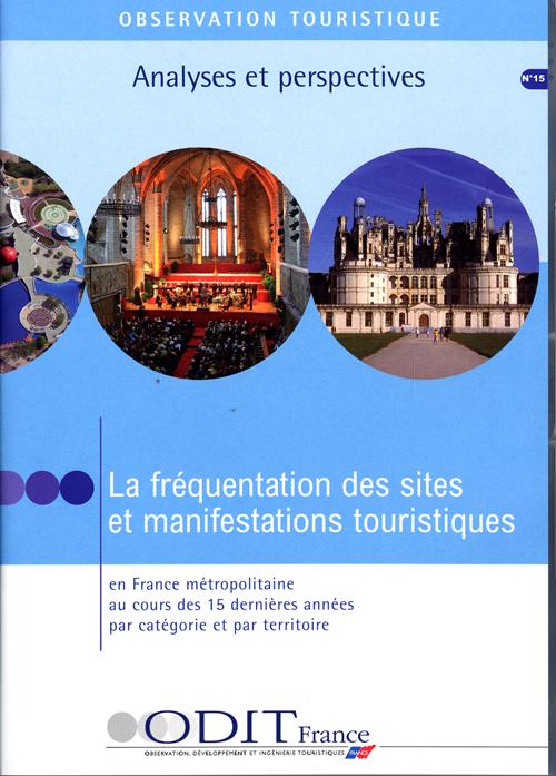 La fréquentation des sites et manifestations touristiques