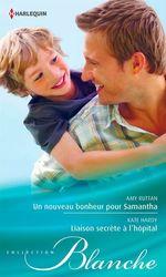 Vente Livre Numérique : Un nouveau bonheur pour Samantha - Liaison secrète à l'hôpital  - Kate Hardy - Amy Ruttan