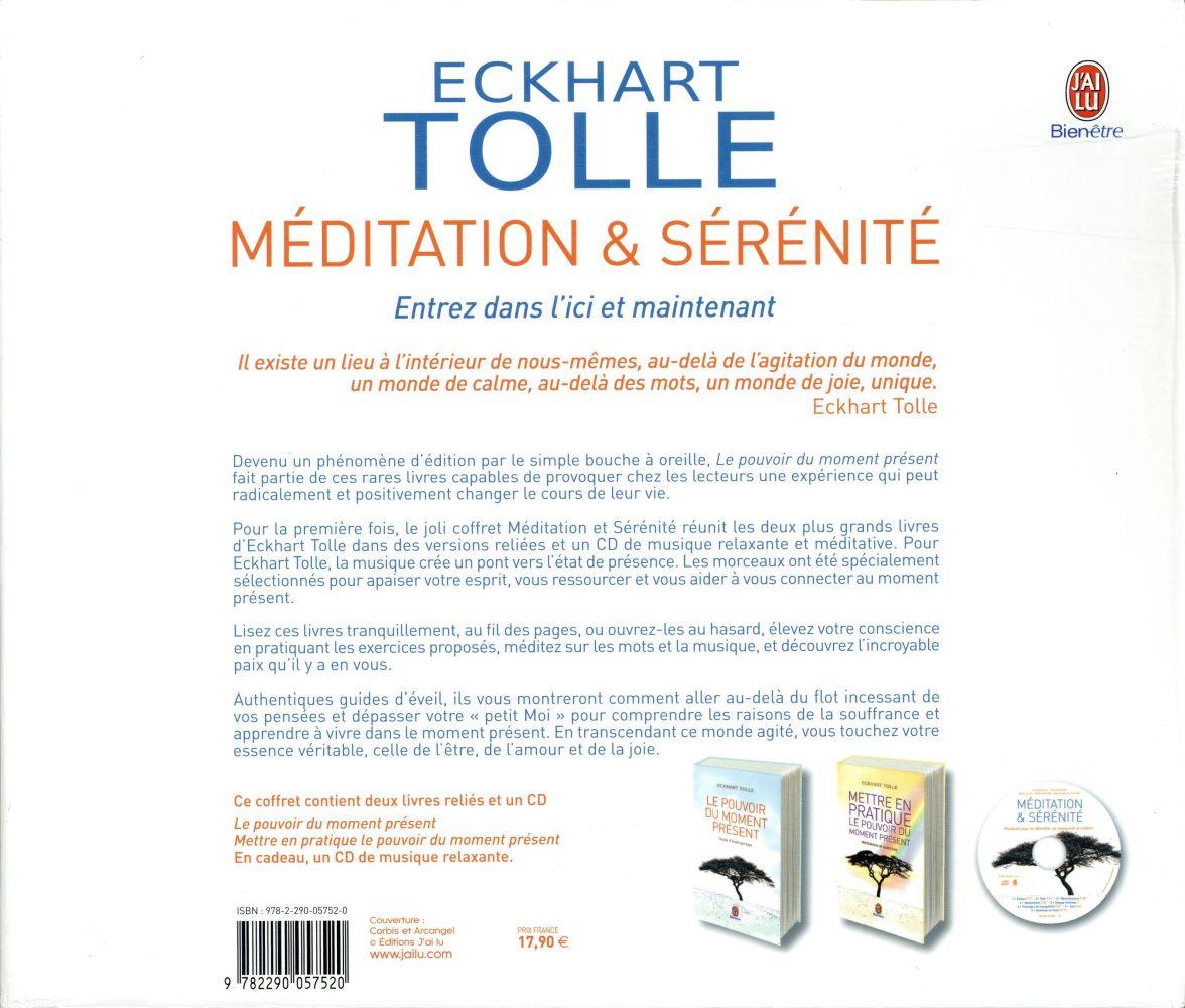 méditation et sérénité ; coffret
