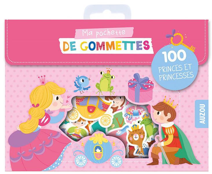 Ma pochette de gommettes ; 100 princes et princesses