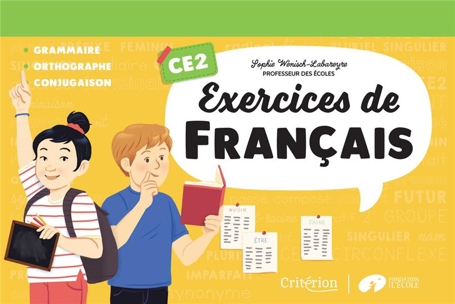 Exercices de français ; CE2