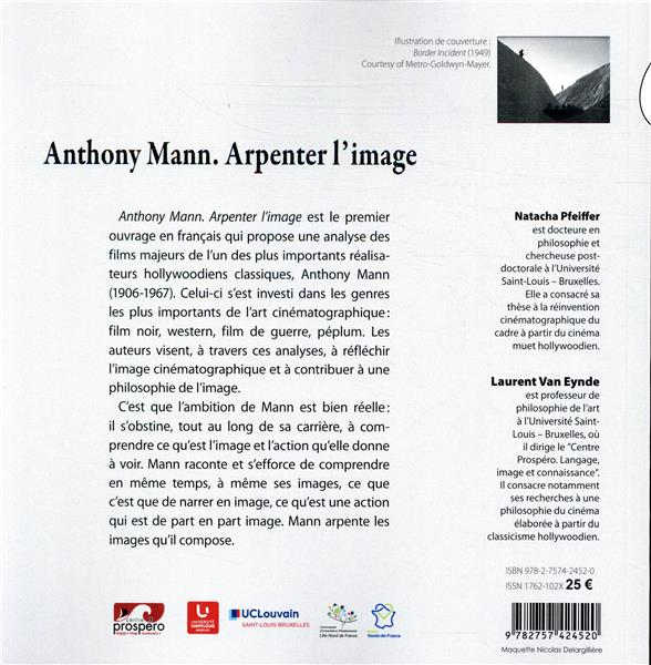 Anthony Mann ; arpenter l'image