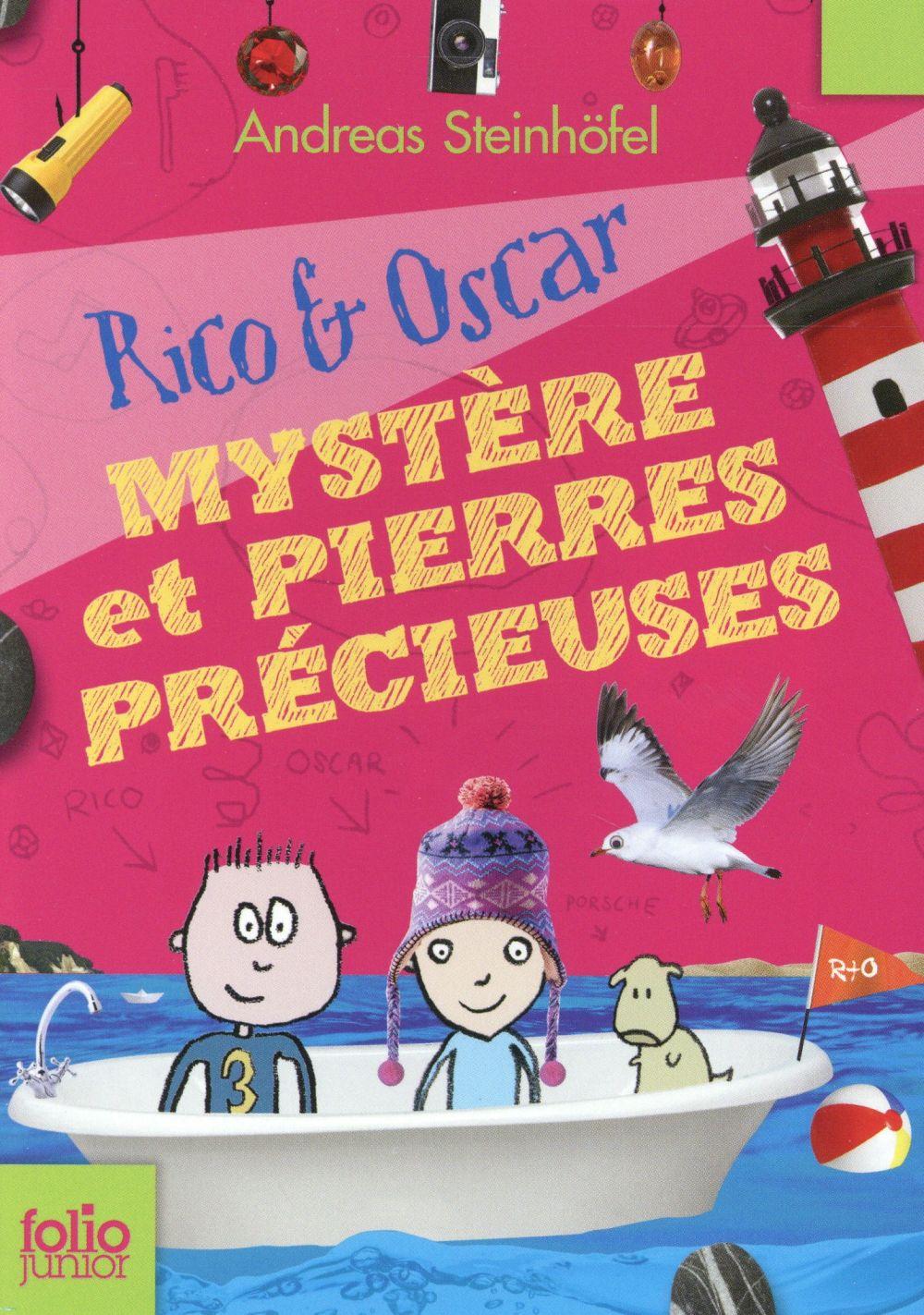 Rico et Oscar t.3 ; mystère et pierres précieuses