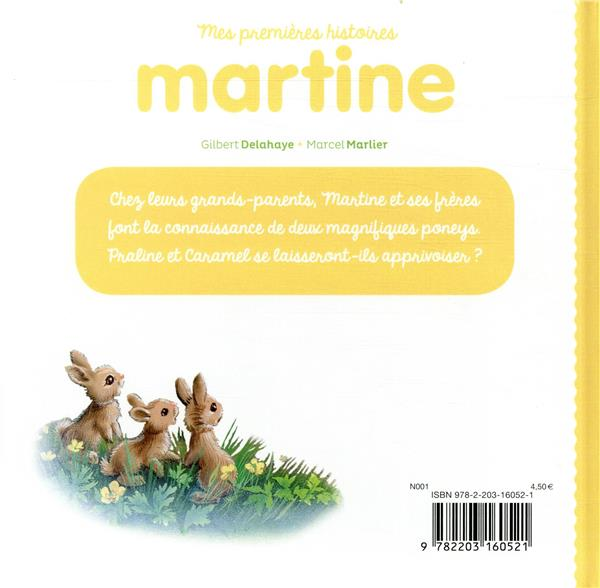 Mes premiers Martine ; martine adore les poneys