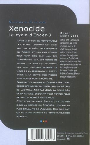 Le cycle d'Ender T.3 ; Xénocide