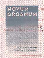 Vente Livre Numérique : Novum organum  - Francis Bacon