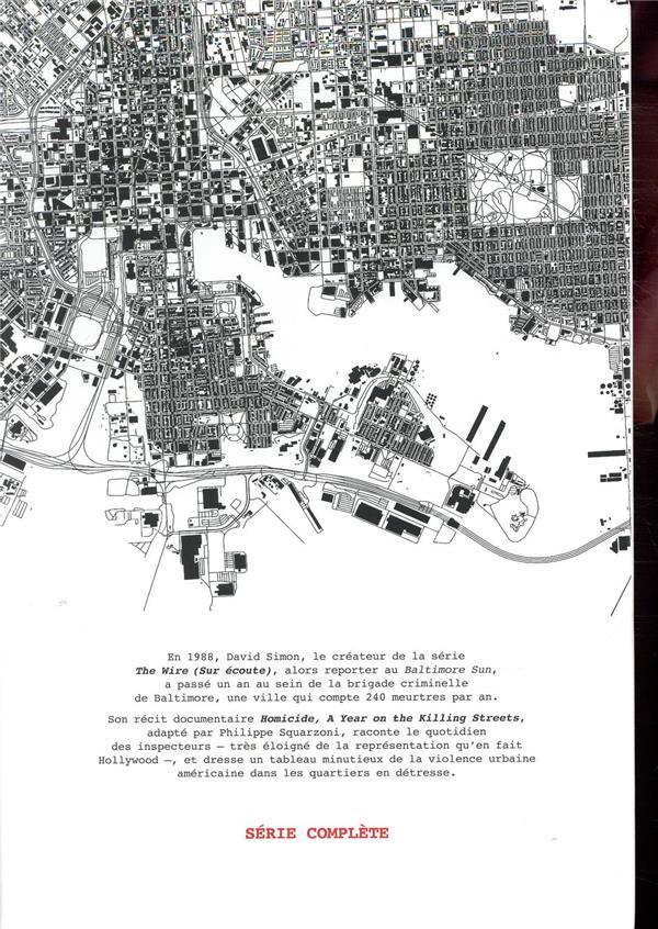 homicide ; une année dans les rues de Baltimore ; coffret t.1 à t.5