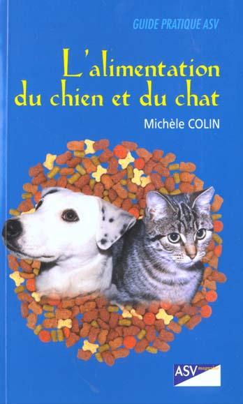 L'alimentation du chien et du chat