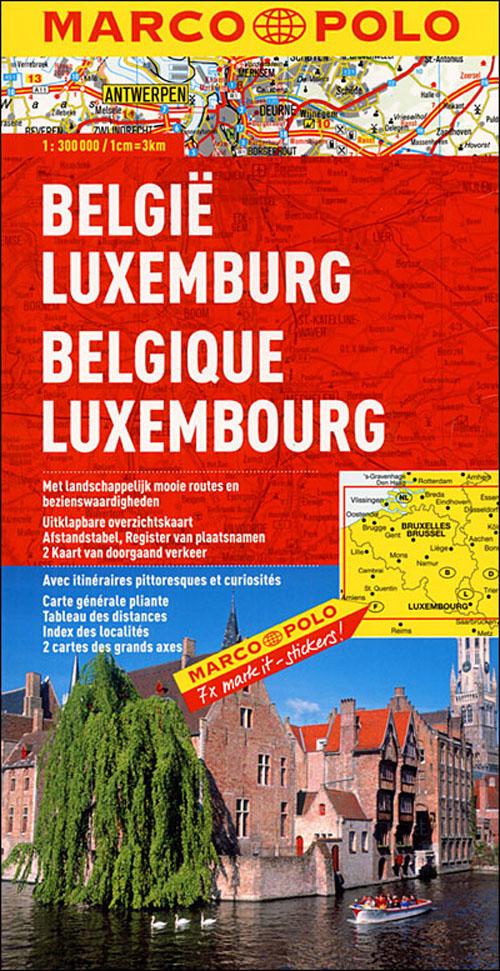 Belgique-luxembourg ; euro carte marco polo