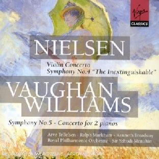 Violin Concerto;Symphony N 4;Symphony N 5;Concerto For 2 Pianos
