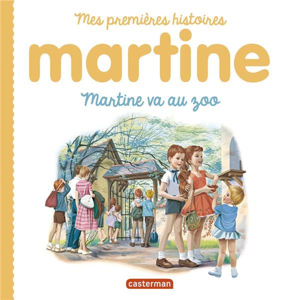 Martine - martine va au zoo