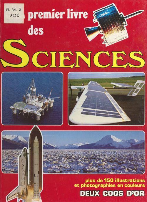 Mon premier livre des sciences