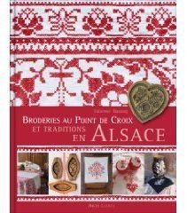 Broderies au point de croix et traditions en Alsace