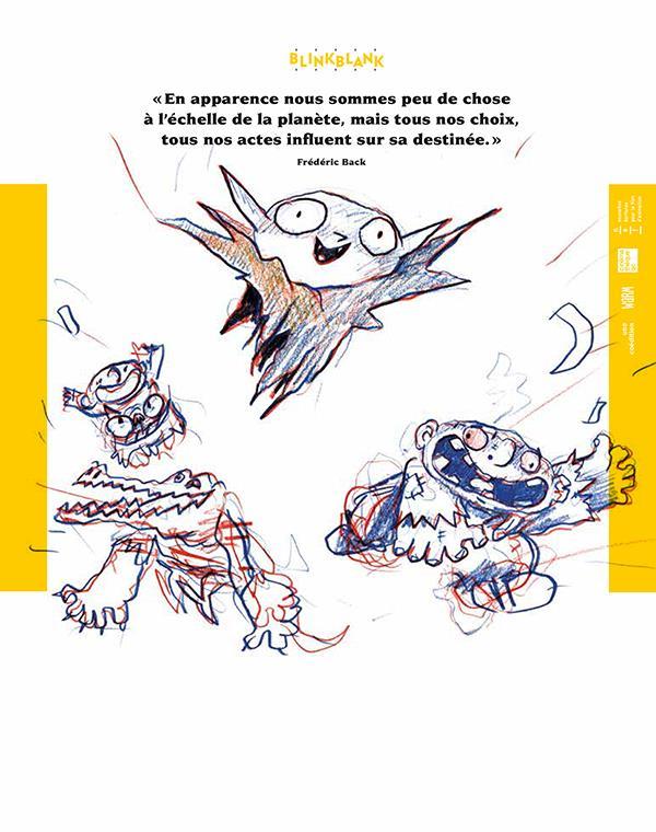 Blink blank n.2 ; la revue du film d'animation