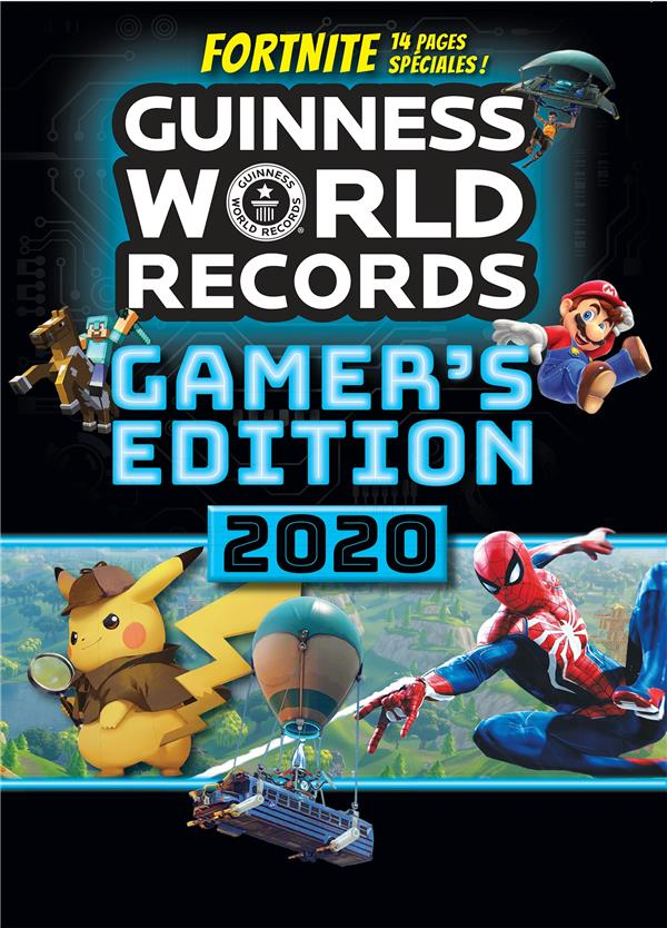 Guinness world records ; gamer's edition (édition 2020)
